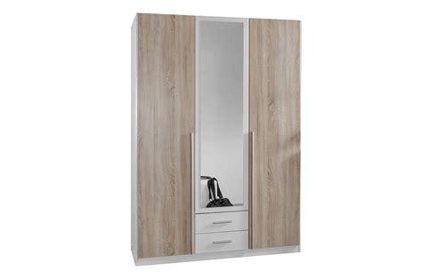Armoire 3 Portes Pas Cher armoire 3 portes pas cher 135 cm cbc meubles