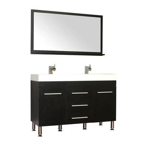Black Modern Vanity by Alya Bath At 8048 B 48 Quot Modern Bathroom Vanity Black