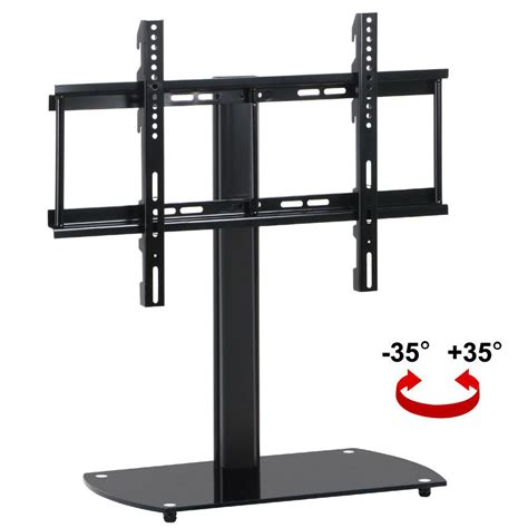 Murah Standing Tv Bracket Tv Standing 32 60 High Quality universal tv stand with swivel mount pedestal base wall mount for 32 60 quot lcd led ebay