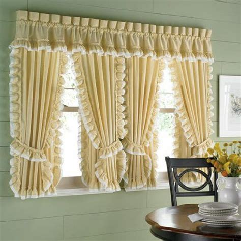Cape Cod Kitchen Curtains Cape Cod Kitchen Curtains Bj S Country Charm Cape Cod Curtains Ruffled Cape Cod Cape Cod