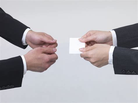 business card etiquette the boutique real estate group