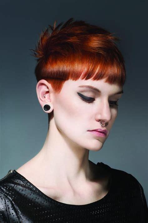 punk hairstyles bangs pretty in punk inspiration punk short hair and haircuts