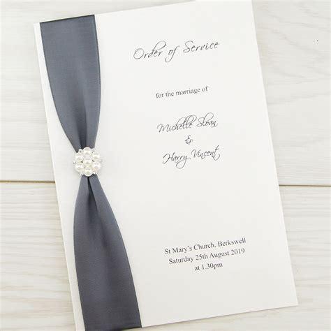 wedding invitation service uk cluster order of service invitation wedding invites