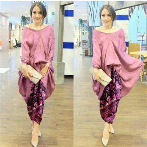Setelan Kebaya Set Bordir model setelan rok batik dan baju kebaya cantik modern terbaru