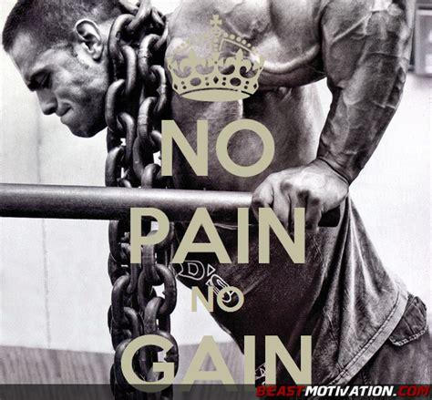 beast motivation no pain no gain