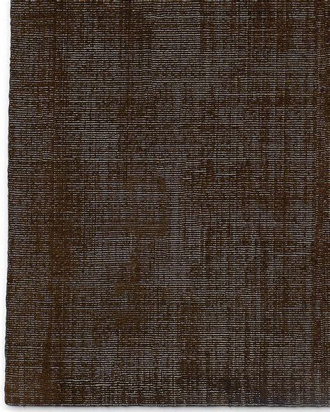 Distressed Wool Rug by Distressed Wool Rug Chocolate