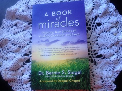 a miracle of books review a book of miracles bernie siegel self help daily
