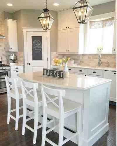 farmhouse kitchen island ideas best 25 modern farmhouse kitchens ideas on