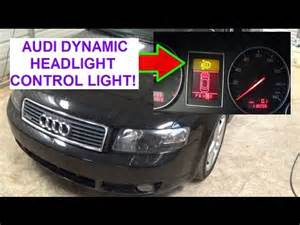 Lighting A Car On Location Audi A4 B6 Yellow Warning Light Dynamic Headlight Range