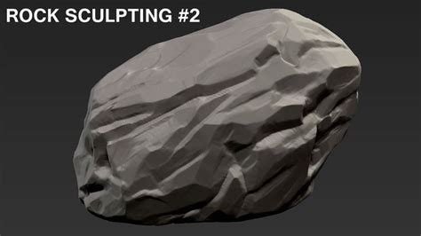 tutorial zbrush rock 17 best images about zbrush environment on pinterest