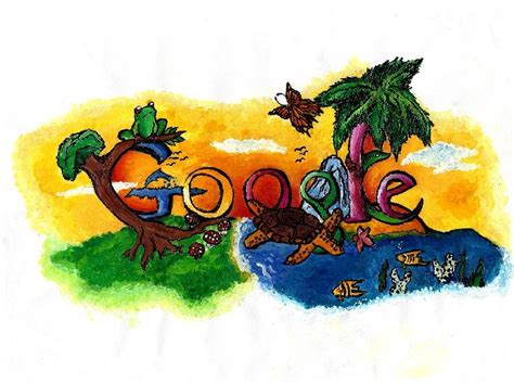google design winners s a student wins doodle 4 google contest clocking in