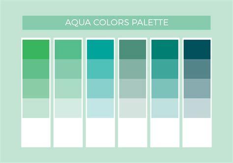 aqua color libre aqua colores vector paleta descargue gr 225 ficos y