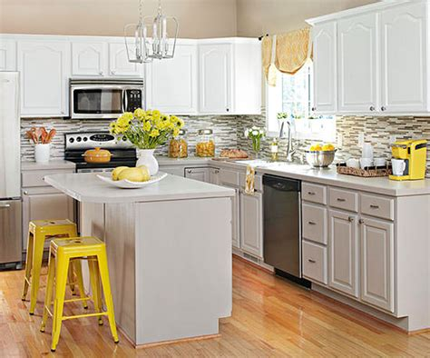Kitchen Makeover Ideas Kitchen Makeovers On A Dime The Budget Decorator