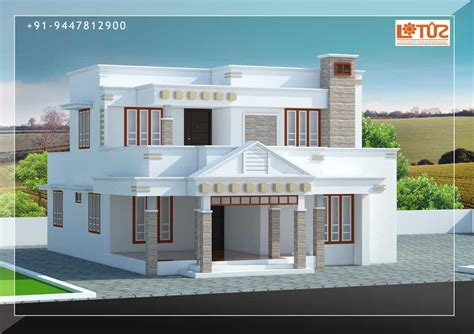 house plans in kerala with estimate 3bhk keralahouseplanner