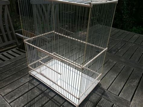 Handmade Cage - handmade goldfinch mule finch cage beech dowel wooden