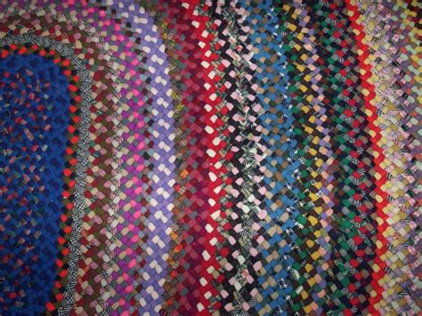 1000 images about vintage braided wool rugs on