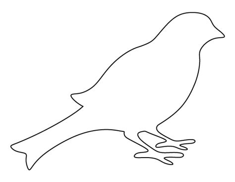 printable templates of birds bird pattern use the printable outline for crafts
