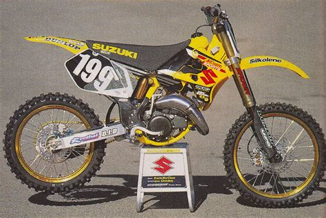 2000 Suzuki Rm125 Travis Pastrana S 2000 Factory Suzuki Rm125 Tony Blazier