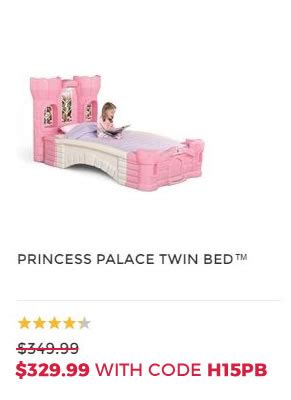 step2 princess palace twin bed shop early save 2015 daily deals are here step2 blog