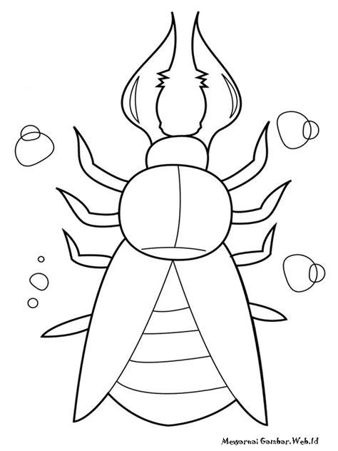 Mewarnai Gambar Serangga | Mewarnai Gambar
