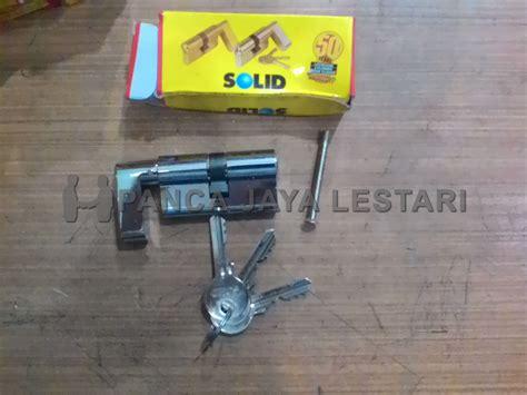 Cilinder Kunci 60 Mm Solid Kuninganank Kunci Solid Dc 02 60 Sn jual silinder cylinder kunci 60mm solid knob toko panca jaya lestari