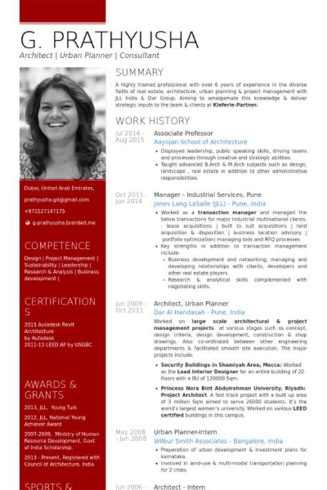 urban design cv associate professor resume sles visualcv resume