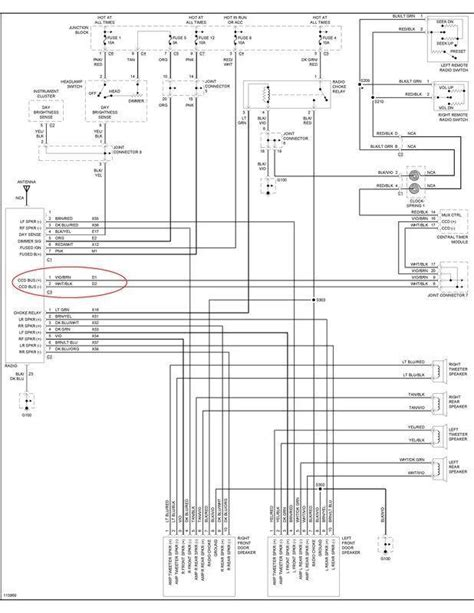 dodge radio wiring diagrams car stereo wiring diagram