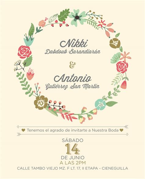 flower design wedding invitation diy wedding invitations floral creative market blog