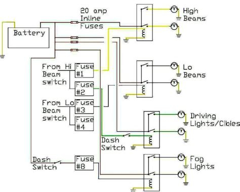 headlight relays    wires   headlights