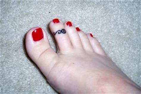 toe ring tattoos designs rings and chang e 3 on