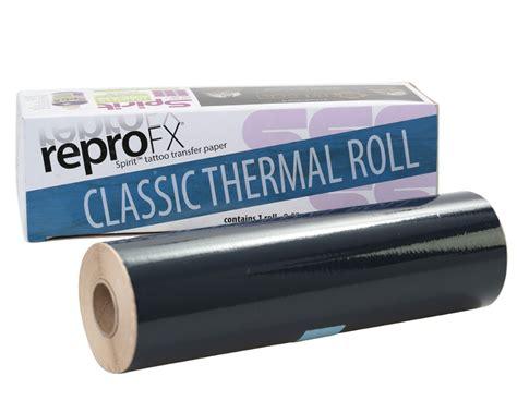 tattoo stencil paper roll spirit classic thermal roll 100 feet thermal stencil