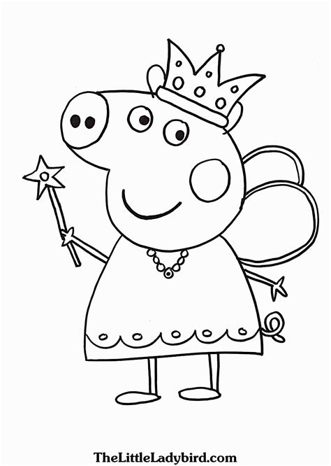 pig coloring pages pepa pis lujo awesome peppa pig coloring book coloring