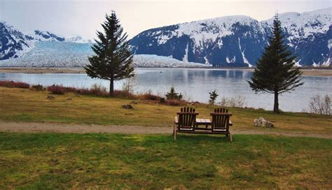 Bench For Porch Glaciers In Juneau No Roads Lead To Alaska S Capital