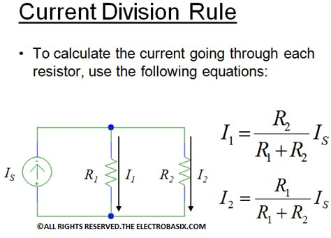 parallel resistor current division basic laws in series and parallel resistor voltage and current division fundamental of