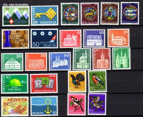 Brief Schweiz Briefmarke Briefmarken Schweiz Jahrgang 1968 Komplett Michel Nr 870 894 Postfrisch G 252 Nstig Kaufen Im