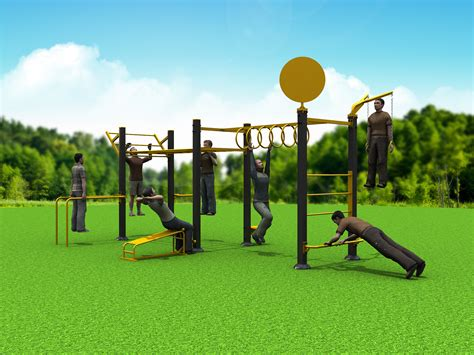 backyard fitness equipment gozones outdoor fitness equipment