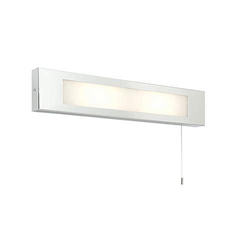 Bathroom Light With Shaver Socket Endon 39913 Panello Bathroom Shaver Socket Wall Light Ip20