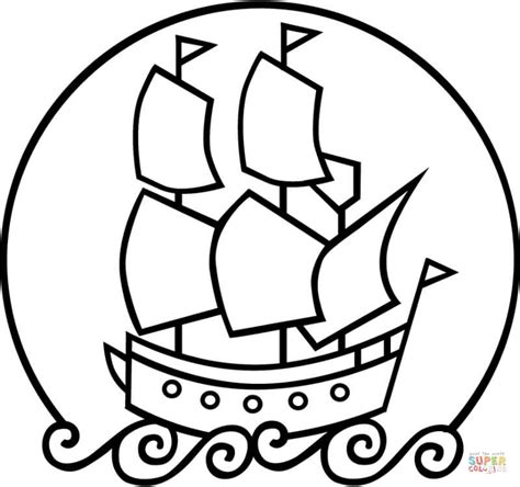 barco dibujo simple moderno barco simple para colorear inspiraci 243 n ideas
