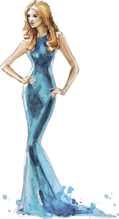 fashion illustration vector file fashion illustration vector 05 vector