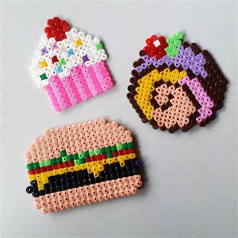 hama food 1000 images about perler on perler