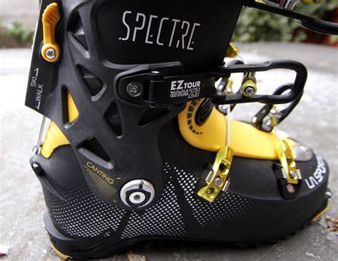 ski boot canting la sportiva spectre ski touring boot teton tested