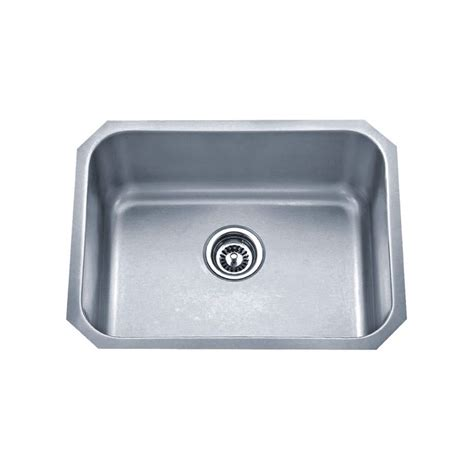 Wessan Drop In Single Bowl Stainless Steel Sink Jr603d83 Kitchen Sink Canada