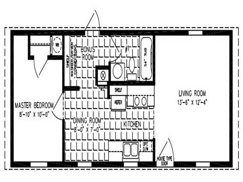 Small Double Wide Mobile Home Floor Plans 2 Bedroom House Plans One Level Doublewide