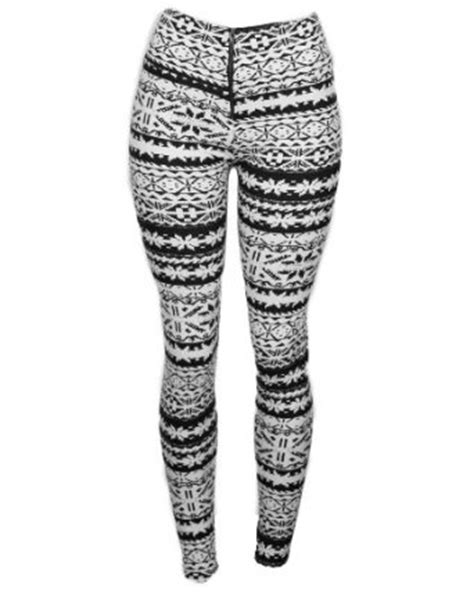 native pattern leggings amazon com sexy comfortable black white aztec native