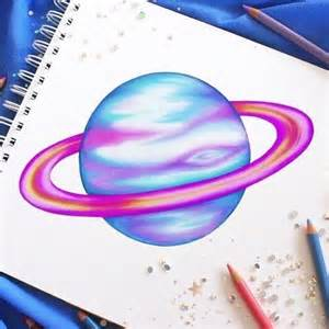 color drawings 1000 ideas about planet drawing on
