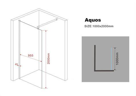 kleiderschrank schiebetüren 150 cm 10 mm duschtrennwand aquos 100 x 200 cm duschdeals