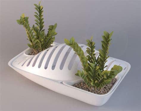 fluidity  dish drying rack  plant pot
