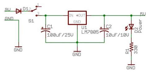 capacitor charging power supply design for high pulse to pulse repeatability applications schematics what do the capacitors on in and out of an lm7805 voltage regulator electrical
