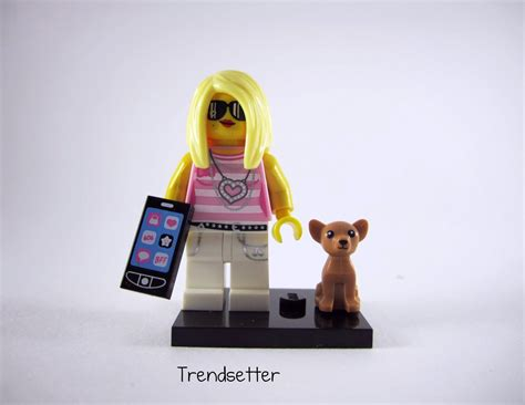 bimbo hairpieces lego minifigures series 10 review part 3