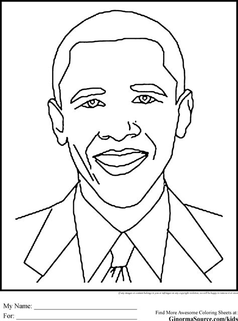 History Coloring Pages black history coloring pages obama education black